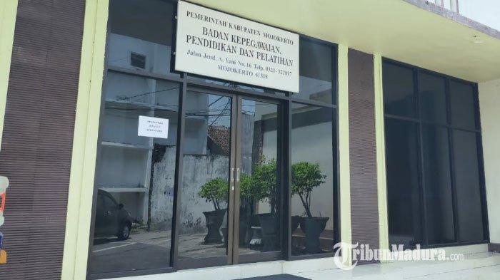 Pegawai BKPP Kabupaten Mojokerto Terkonfirmasi Positif Covid-19, Pelayanan Kepegawaian Dialihkan