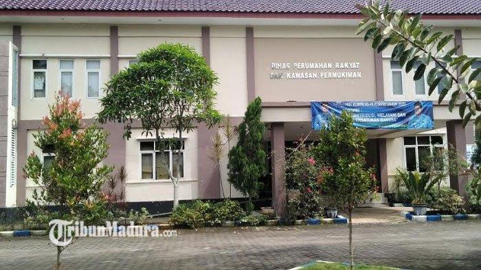 Dua Pegawai Positif Covid-19, Kantor Dinas PRKP Bangkalan Tutup, Begini Kondisi Kegiatan Dinas