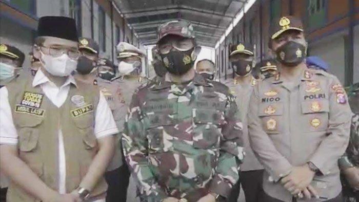 Kapolda Jatim dan Pangdam Laksanakan Manajemen Krisis, Antisipasi Lonjakan Covid-19 di Bangkalan