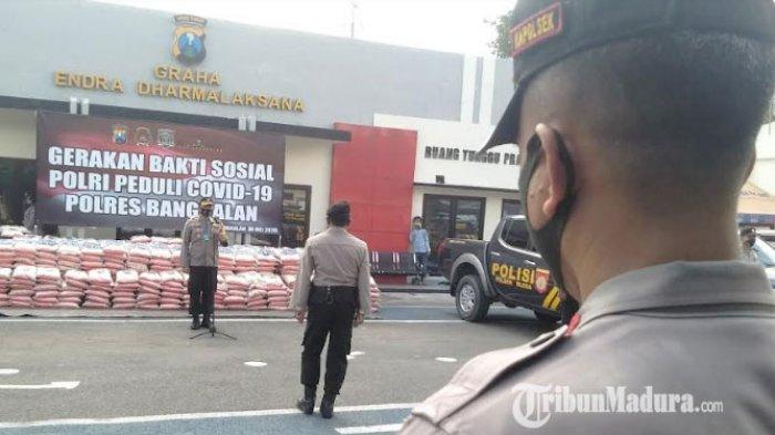 Kapolres Bangkalan Wajibkan Setiap Polsek Dirikan Tiga Kampung Tangguh Covid-19 di Seluruh Kecamatan