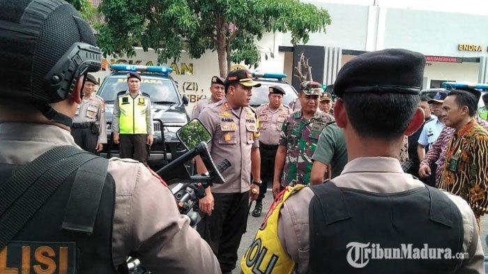 Cegah Tindak Kejahatan Jelang Natal dan Tahun Baru, Polres Bangkalan Siapkan Regu Sniper