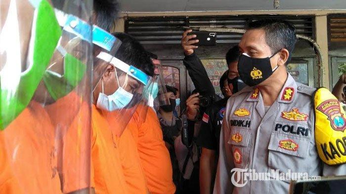 Sejak Januari 2021, Satnarkoba Polres Bangkalan Ungkap 12 Kasus Narkoba, 47,2 Gram Sabu Disita