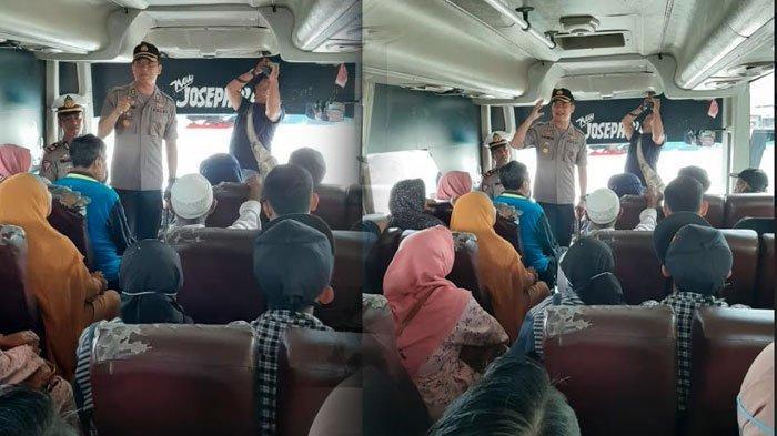Sopir Bus Pakai Sabu, Diganti Sopir Baru, Penumpang yang Sudah Satu Jam di Bus Diminta Tak Khawatir