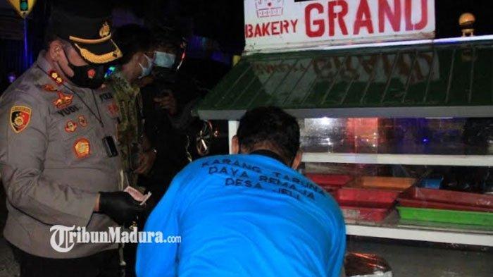 Pedagang dapat Rezeki Nomplok, Kapolres Kediri Kota Borong Dagangan Saat Patroli PPKM Level 4