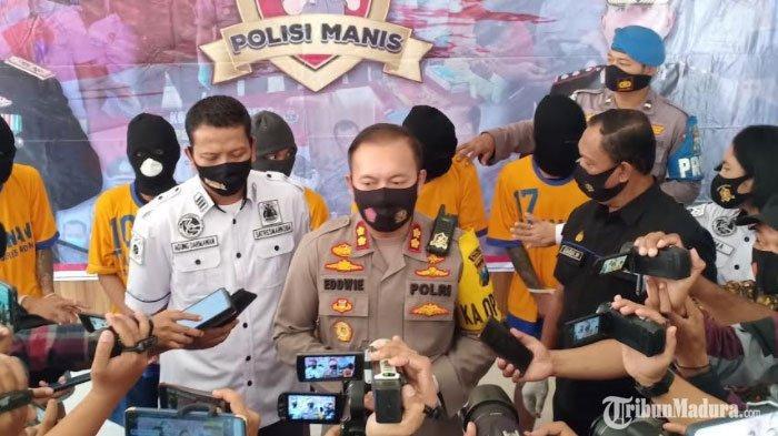 3 Orang Polisi di MadiunPositif Covid-19, Belasan Orang Lainnya Reaktif setelah Ikut Rapid Test