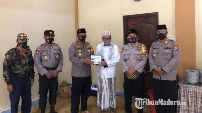 Kapolres Pamekasan Silaturahmi ke Ponpes Miftahul Ulum, Imbau Patuhi Prokes 3M di Lingkungan Ponpes