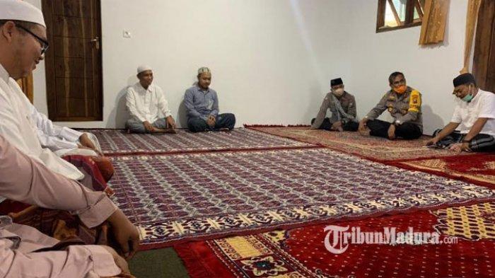 Kapolres Pamekasan Silaturahmi ke PP Nurul Islam, Sikapi Dinamika Kamtibmas dan Cegah Sebaran Corona