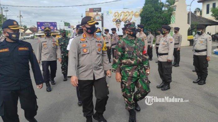Pengaman Perbatasan Kabupaten Ponorogo - Wonogiri Jawa Tengah Diperketat, Cegah Masyarakat Mudik