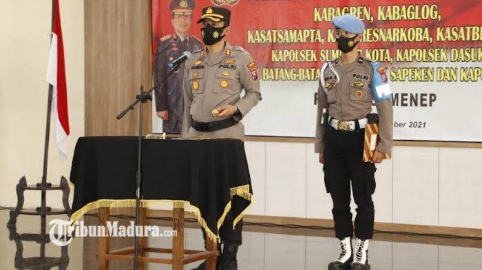Kapolres Sumenep Pimpin Sertijab, Simak Deretan Daftar Jabatan Baru Kabag, Kasat dan Kapolsek