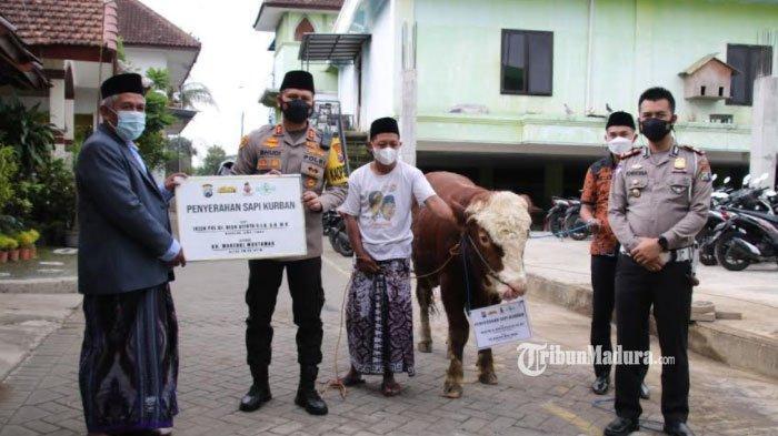 Kapolresta Malang Kota Silahturahmi ke Ketua PWNU Jawa Timur, Minta Dukungan Edukasi Prokes Warga