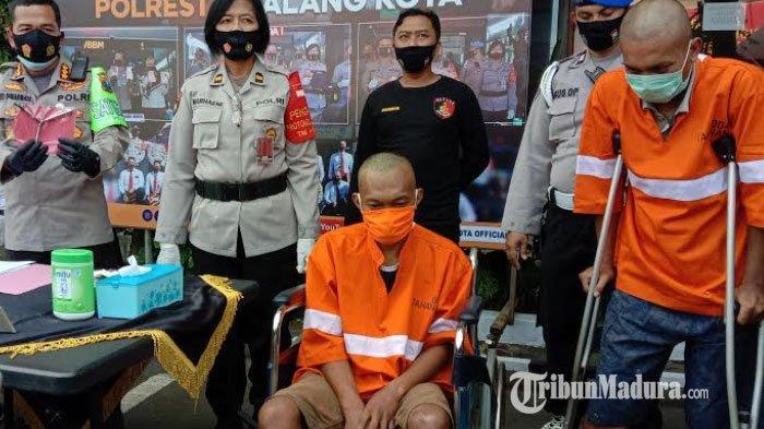 Melawan Saat Akan Ditangkap, Polisi Tembak Kaki Dua Tersangka Curanmor di Kota Malang