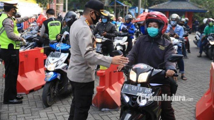 4 Titik Penyekatan di Kabupaten Lamongan, Perbatasan Mojokerto, Gresik hingga Lamongan Dijaga Ketat