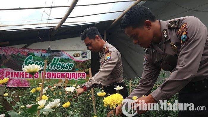 Polsek Nongkojajar Pasuruan Berinovasi, Sulap Halaman Polsek jadi Taman Edukasi untuk Masyarakat