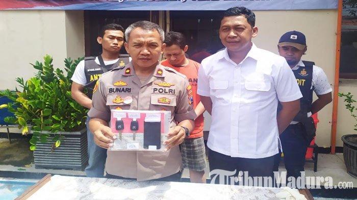 Bergaji 9 Juta Kerja di Hotel, Pria Surabaya Malah Curi Mobil Honda BRV, Diciduk Saat Terjebak Macet