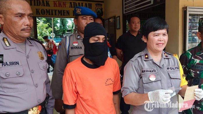 Kuli Bangunan Ngaku Kecanduan dan Dongkrak Stamina, Ditangkap Saat Beli Sabu di Kunti Surabaya