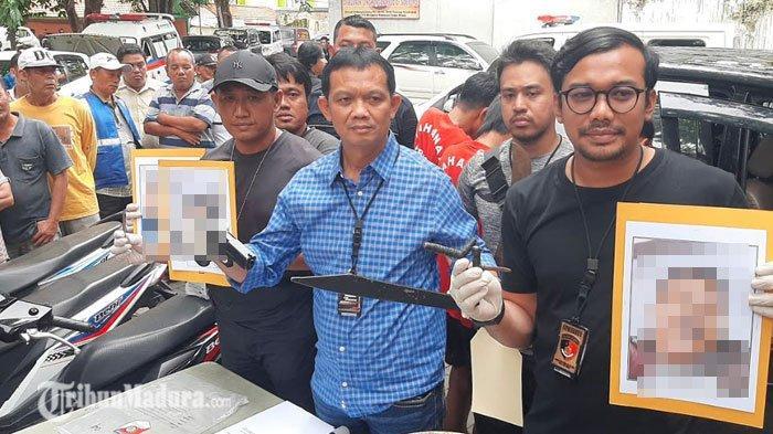 Tiga Begal yang Ditembak Mati Polisi di Surabaya, Saat Beraksi Bawa Bekal Sajam, Bom Ikan dan Pistol
