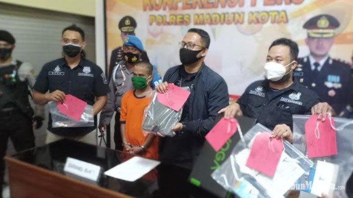 Pelaku Pencurian Spesialis Rumah Mewah Kosong Ditangkap, Sudah Beraksi di Beberapa Kota Jawa Timur