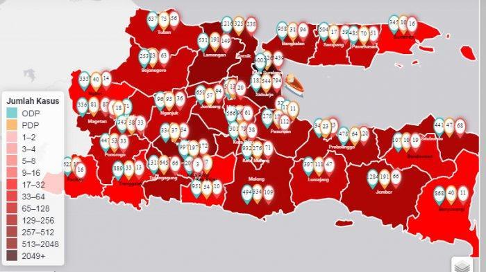 UPDATE Virus Corona: dari 31 Kecamatan di Jember, Tujuh Kecamatan Tidak Termasuk Zona Merah