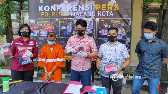 Aksi Nekat Pengamen di Kota Malang Bobol Dua Minimarket, Hasil Kejahatannya Dipakai Pesta dengan PSK