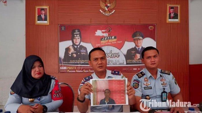 TahananRutan Bangil Kabur dari Sel Jelang Subuh,Rusak dan Bakar PlafonRuangan dengan Korek Api