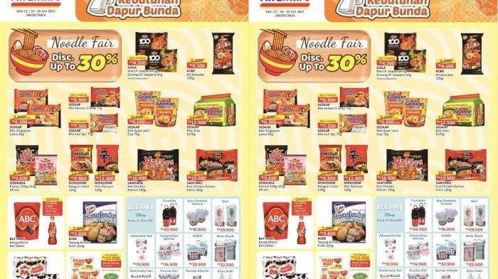 Katalog Promo Alfamart Selasa 22 Juni 2021, Promo Serba Gratis, Promo Hematku dan Cashback Rp 5.000