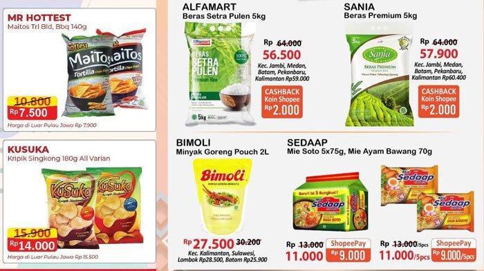 Daftar Katalog Promo Alfamart 21 Mei 2021, Promo dan Diskon Minyak Goreng Murah Hingga Promo Snack