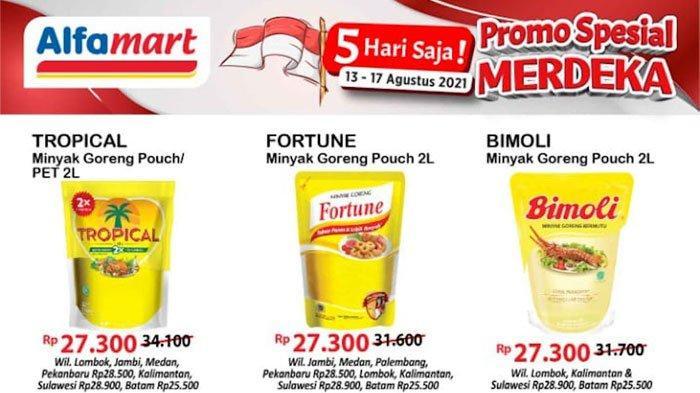 Promo Alfamart 14 Agustus 2021, Promo Gratis Hingga Promo Belanja Non Tunai, ada Minyak Goreng Murah