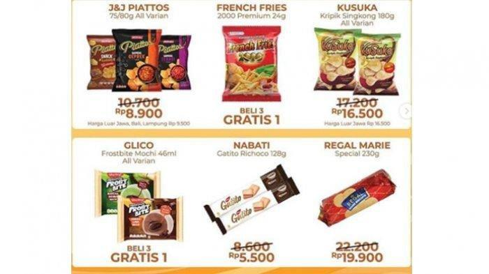 Katalog Promo Alfamart pada 14 Januari 2021, Promo ShopeePay dan GoPay hingga Promo Serba Rp 5000