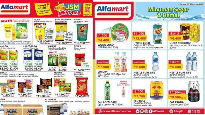 Daftar Katalog Promo Alfamart 15 Agustus, Promo Menarik di Akhir Pekan, Makin Hemat Pakai Non Tunai