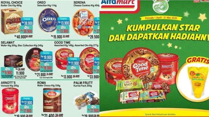 Daftar Promo Alfamart 23 Mei 2020, Belanja Hemat Promo Paket Idul Fitri, Makin Hemat Pakai Nontunai