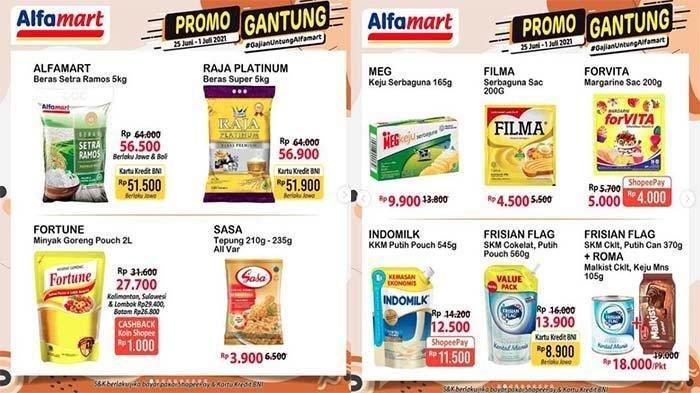Daftar Promo Alfamart Senin 28 Juni 2021, Promo Minyak Goreng Murah, Promo Gratis Hingga ShopeePay