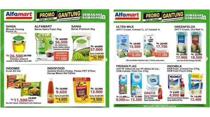 Banting Harga Minyak Goreng, Susu hingga Beras, Inilah Katalog Promo Alfamart Jumat 30 April 2021