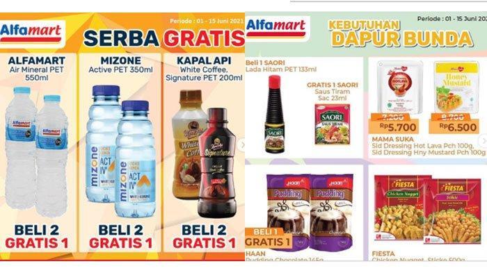 Katalog Promo Alfamart Hari ini, Promo Serba Gratis, Promo Serba 5 Ribu dan Diskon Kebutuhan Dapur