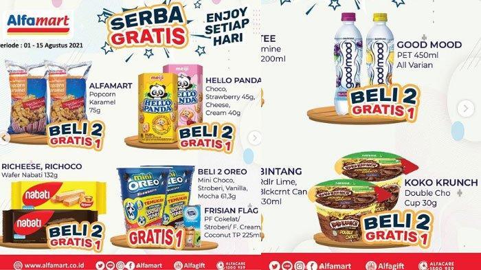 Daftar Promo JSM Alfamart Jumat 13 Agustus 2021, Promo ShopeePay Hingga Promo Gratis Bikin Hemat