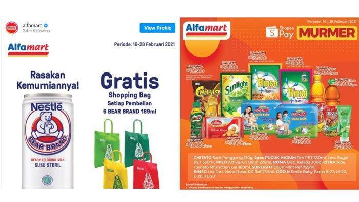 Katalog Promo Alfamart Kamis 18 Februari 2021, Promo Serba Gratis, Murmer, hingga Hajatan Gopay