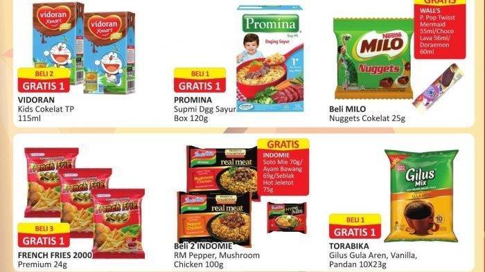 Promo Alfamart Kamis 7 Januari 2021, Promo Beli 1 Gratis 1, Kebutuhan Dapur dan Diskon Beras Premium