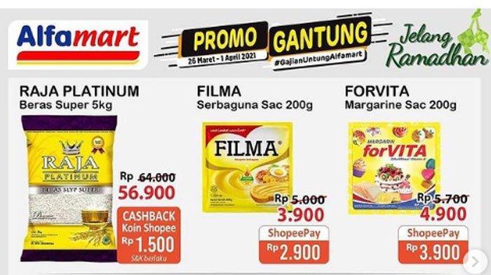 Katalog Promo Alfamart 29 Maret 2021, Promo ShopeePay dan GoPay Hingga Promo Sambut Ramadan