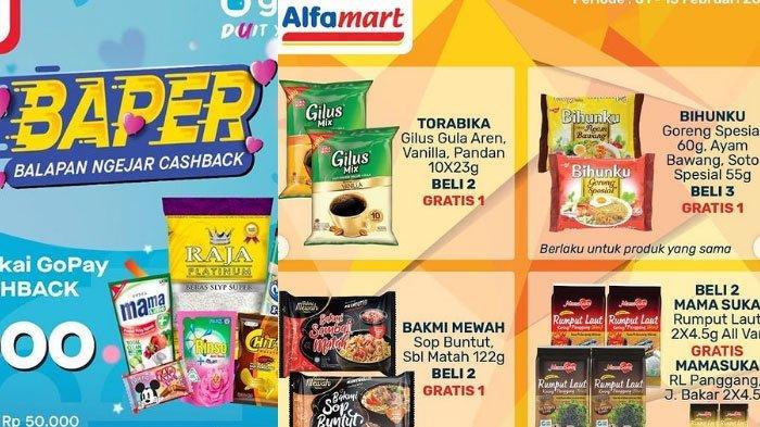 Daftar Promo Alfamart 9 Februari 2021, Mulai Promo GoPay, ShopeePay hingga ada Promo Gratis