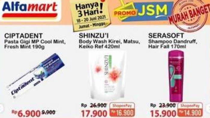 Katalog Promo Alfamart 19 Juni 2021, Pilihan Diskon Beras, Minyak Goreng, Shampoo, hingga Pasta Gigi