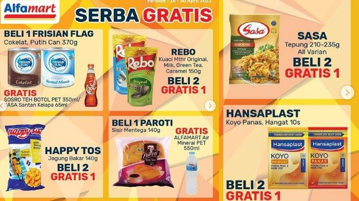 Katalog Promo JSM Alfamart 24 April 2021, Promo Serba Gratis Hingga Promo Pak Rahmat Bulan Ramadan