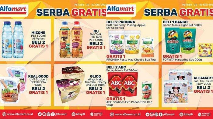 Daftar Katalog Promo Alfamart Hari Ini, Ada Promo Diskon Beli 2 Gratis 1 Produk Susu hingga Energen