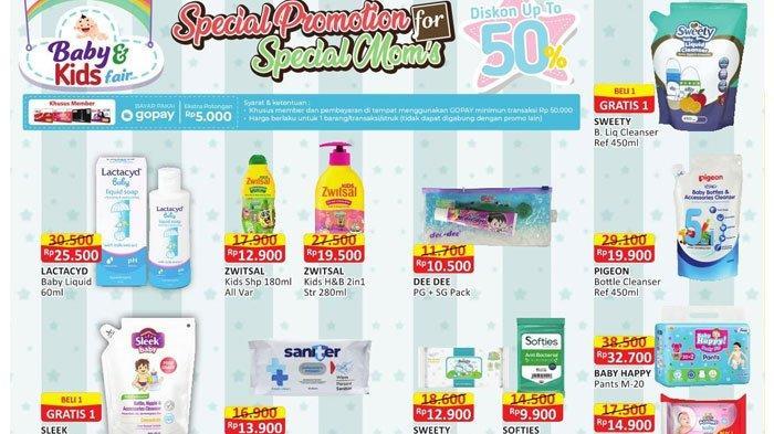 Promo Alfamart 8 Desember 2020, Promo Beli 1 Gratis 1 Kebutuhan Bayi hingga Diskon Minyak Goreng