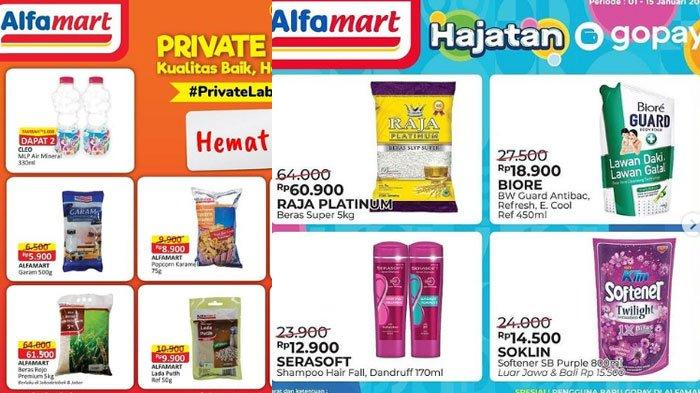 Katalog Promo Alfamart Senin 11 Januari 2021, ada Promo Gratis, Promo GoPay Hingga ShopeePay
