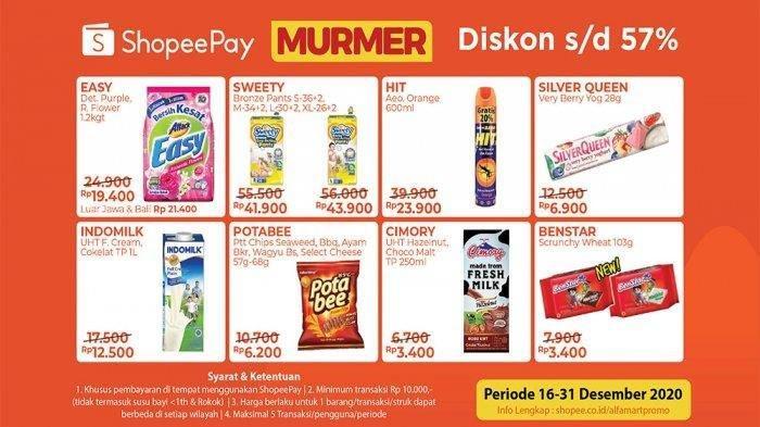 Katalog Promo Alfamart 28 Desember 2020, Promo GoPay, ShopeePay hingga Promo Gratis Hadir Kembali