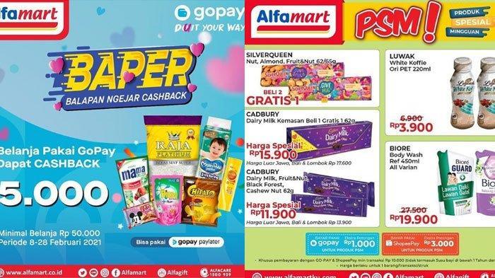 Katalog Promo Alfamart 10 Februari 2021, Promo Gratis Jadi Andalan, Juga Promo GoPay dan ShopeePay