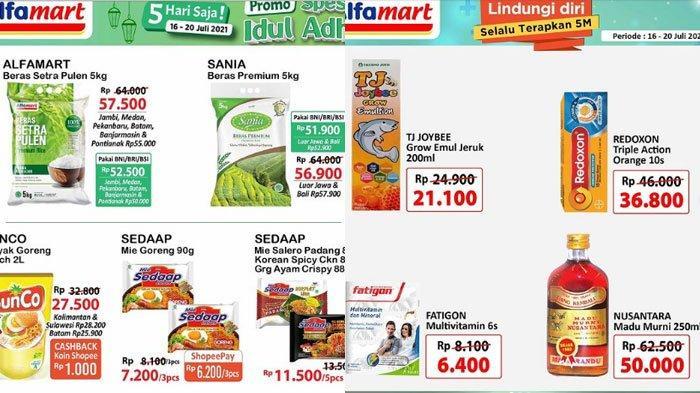 Daftar Promo Alfamart Minggu 18 Juli 2021, Promo Minyak Goreng Murah, Promo Gratis Hingga Diskon