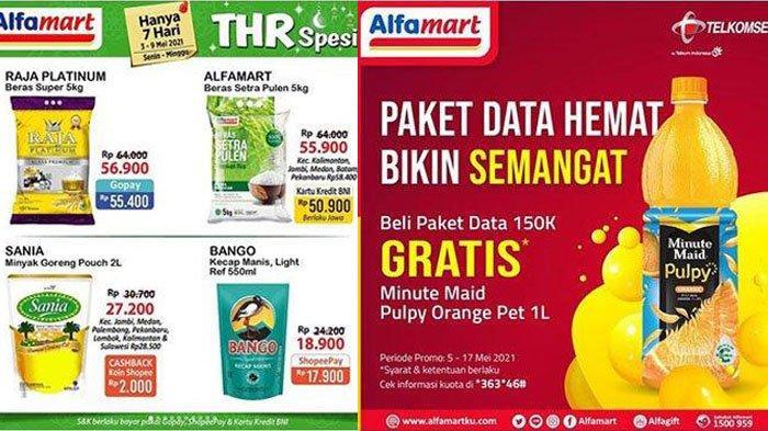 Promo Alfamart Terbaru Sabtu 8 Mei 2021, Paket Snack, Minyak Goreng, Detergen hanya Rp 29 Ribu Saja
