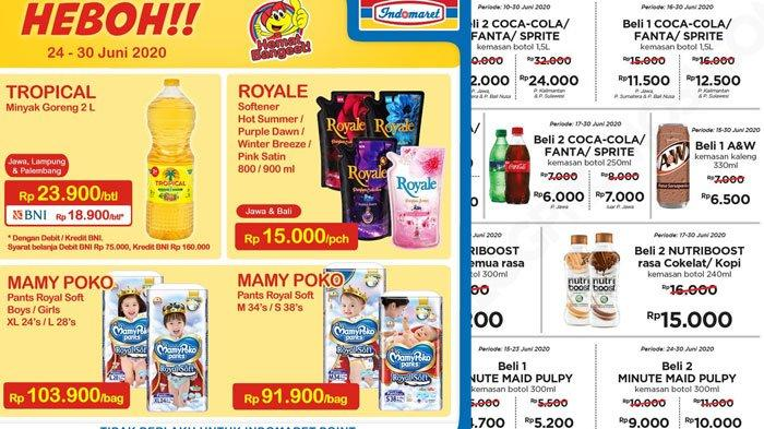 Katalog Promo Indomaret Senin 29 Juni 2020, Minyak Goreng Murah Hingga Belanja Non Tunai Makin Hemat