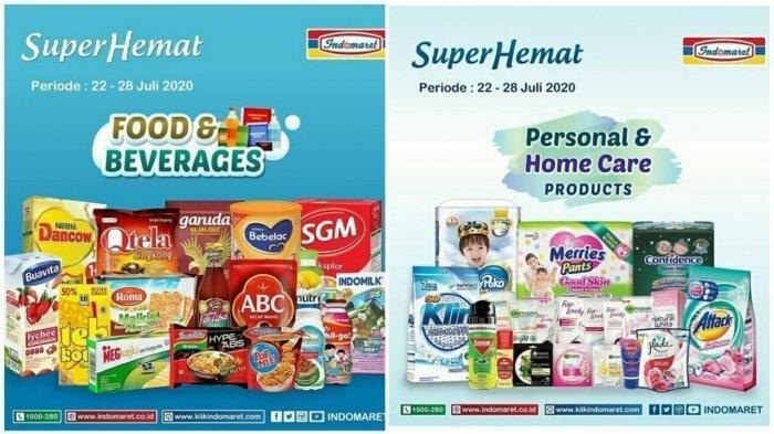 Katalog Promo Indomaret 22 - 28 Juli 2020, Ada Promo Super Hemat Susu, Detergen, Popok Bayi & Snack