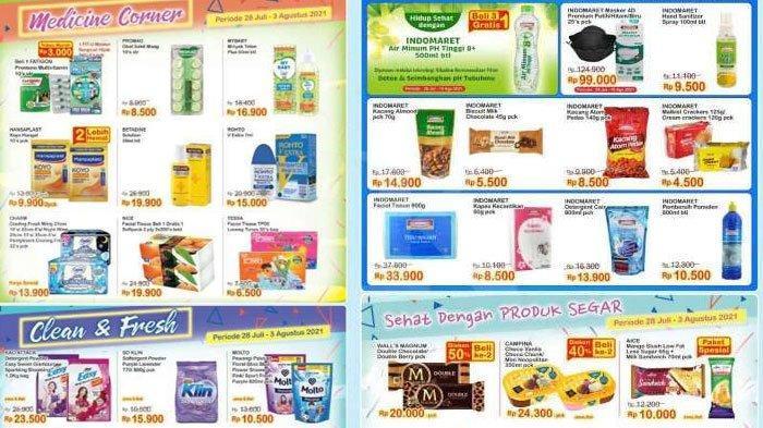 Daftar Katalog Promo Indomaret Terbaru Pekan Ini, Tebus Murah Deterjen, Shampo hingga Bumbu Dapur
